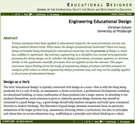 Engineering Educational Design