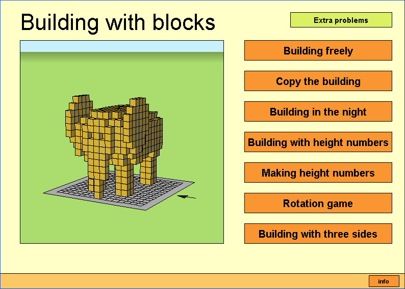 Building Blocks Applet