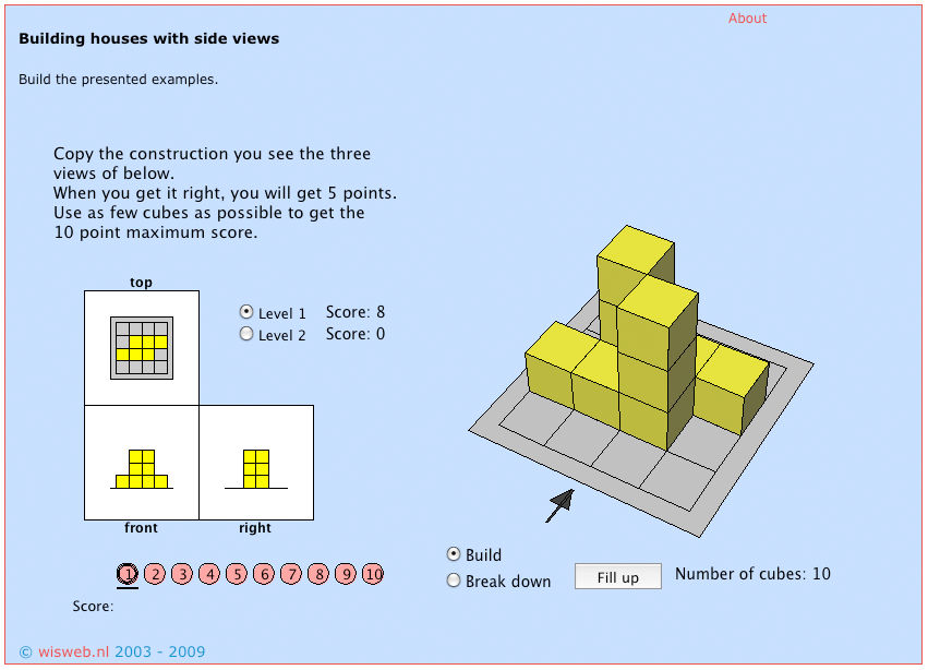 building houses 2 maths game
