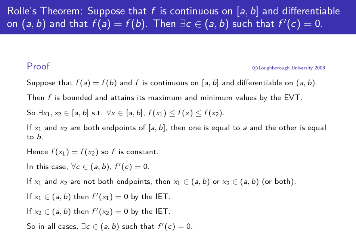 E proofs design of a resource to support proof comprehension in figure 1 a proof of rolles theorem here evt stands for extreme value theorem and iet stands for interior extremum theorem buycottarizona Image collections
